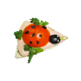 Бутерброд «Божья коровка»