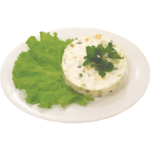 Салат «Оливье с курицей»