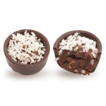 Конфеты шоколадные ручной работы с кокосовой начинкой