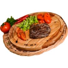 Стейк из говяжьей вырезки, 160/50/25 гр.