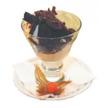 Мороженое: пломбир, шоколадное, клубничное