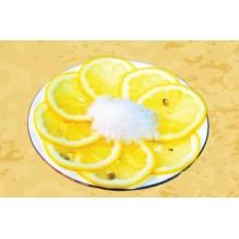 Лимон с сахаром