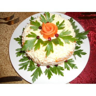 Торт из печени, 1000 гр.