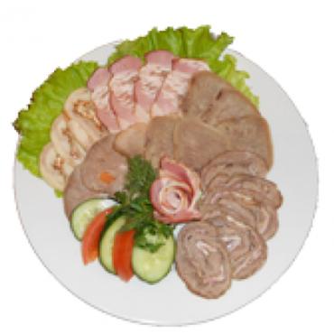 Закуска «Мясное изобилие», 180/50 гр.